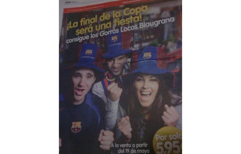 Campaña Barça – Sport