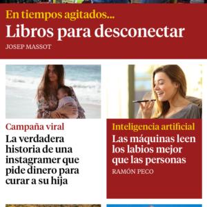 Alumna en La Vanguardia